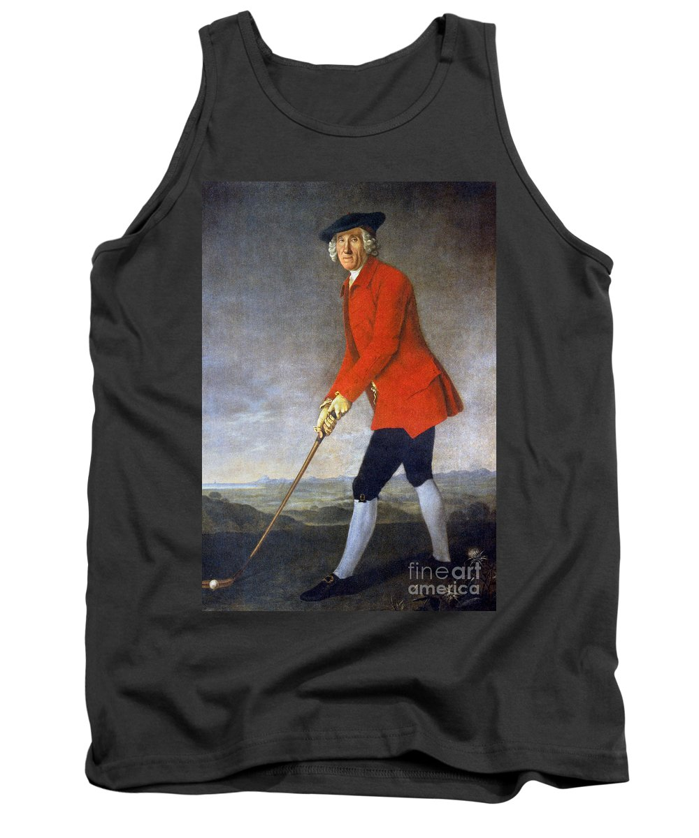 18th Century Tank Top featuring the photograph George Chambers: by Granger