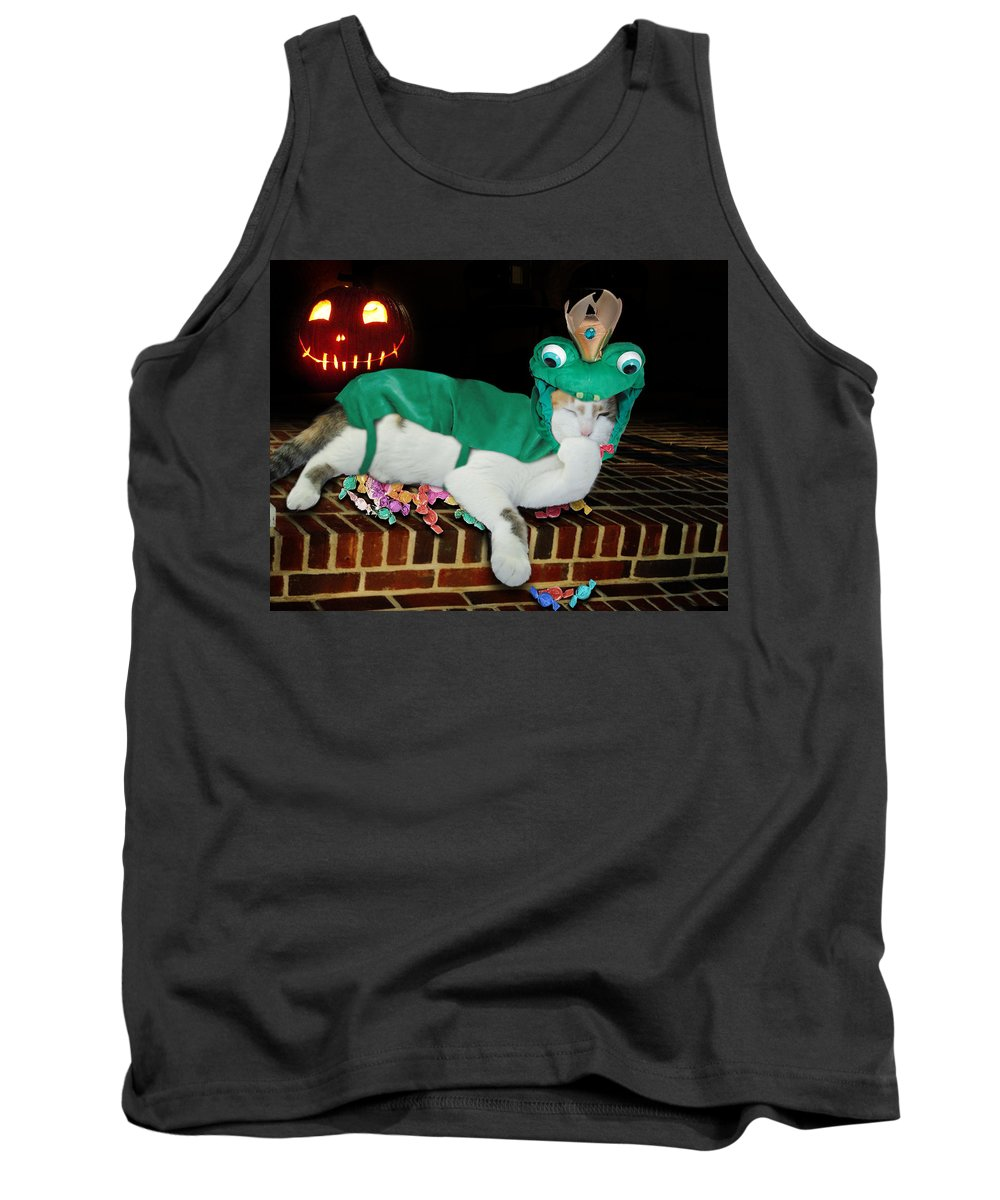 Tank Top featuring the mixed media Gettin' The Goods by Gravityx9 Designs