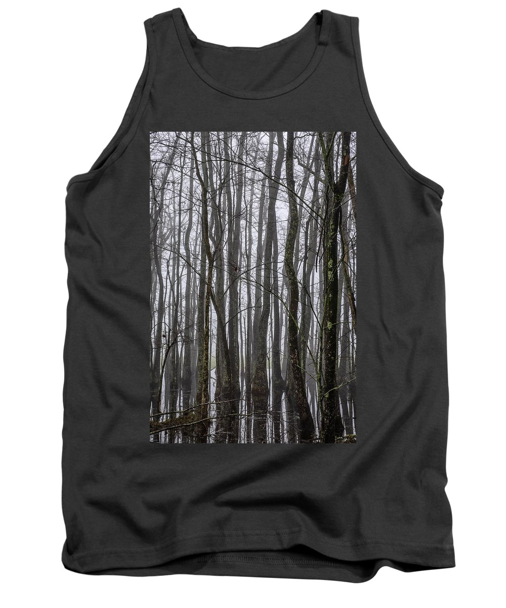Louisiana Tank Top featuring the photograph Ghost Swamp by Bonnie Marquette
