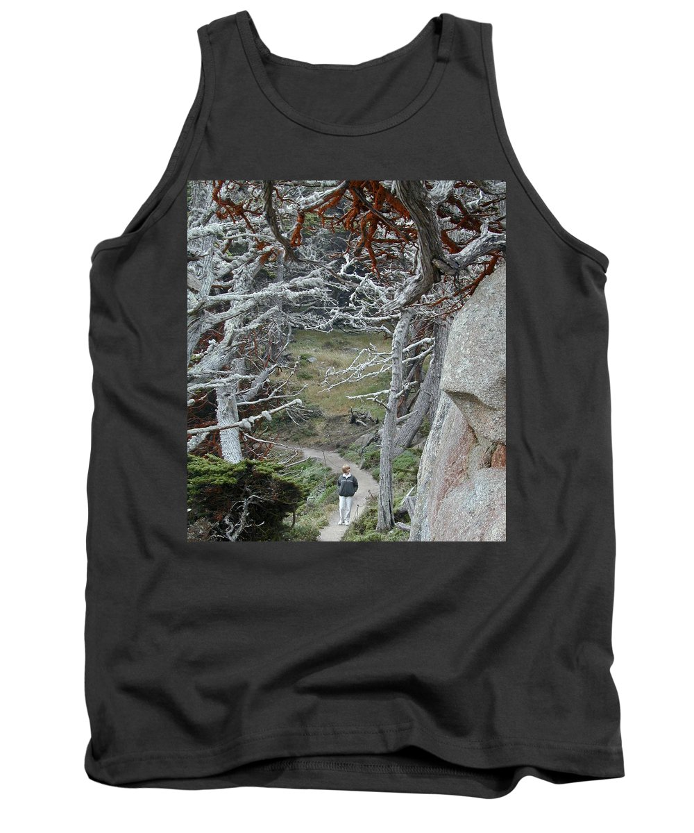 Lichens Tank Top featuring the photograph Ghost Trees by Douglas Barnett