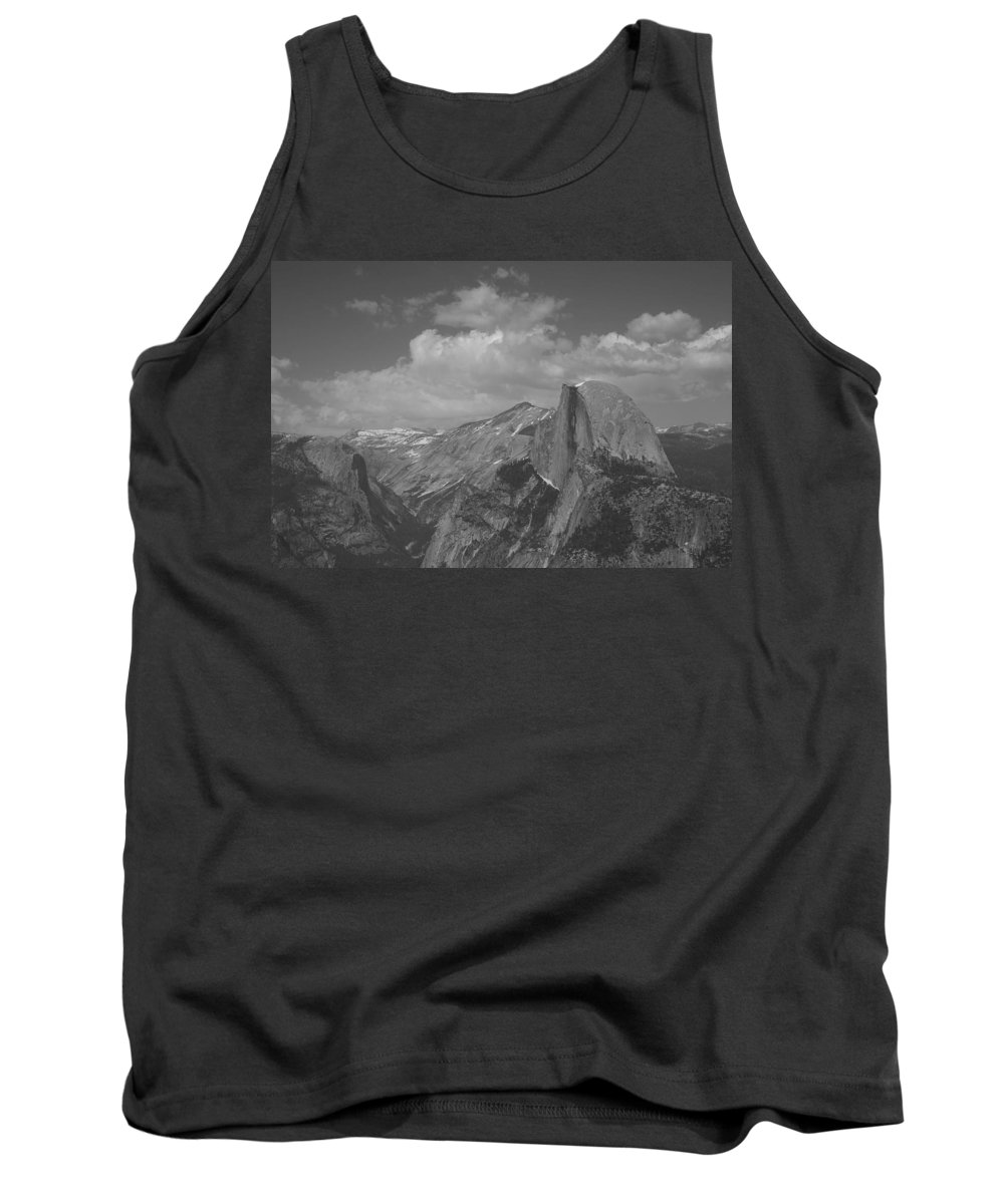 Half Dome Tank Top featuring the photograph Glacier Point by Travis Day