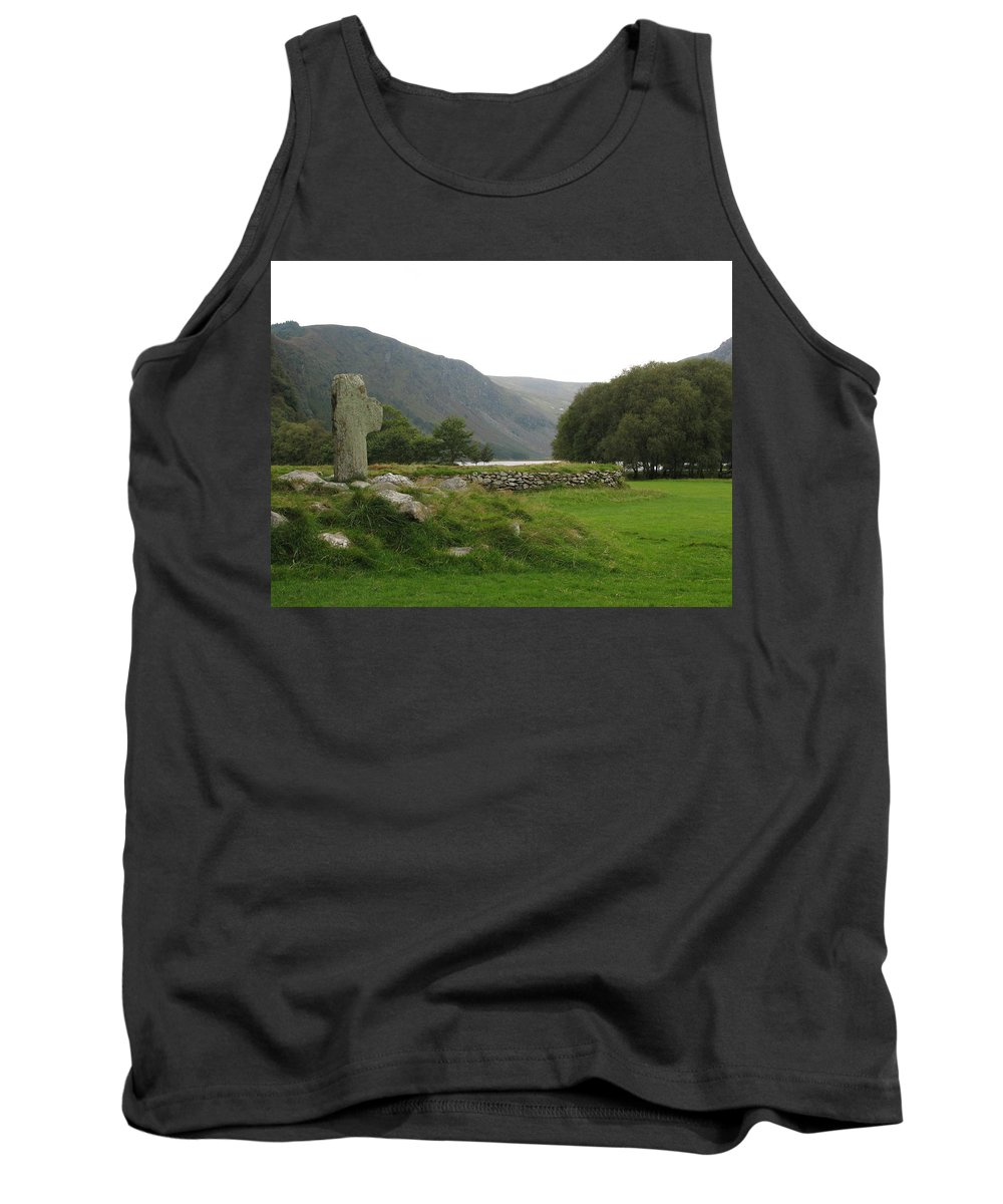Glendalough Tank Top featuring the photograph Glendalough by Kelly Mezzapelle