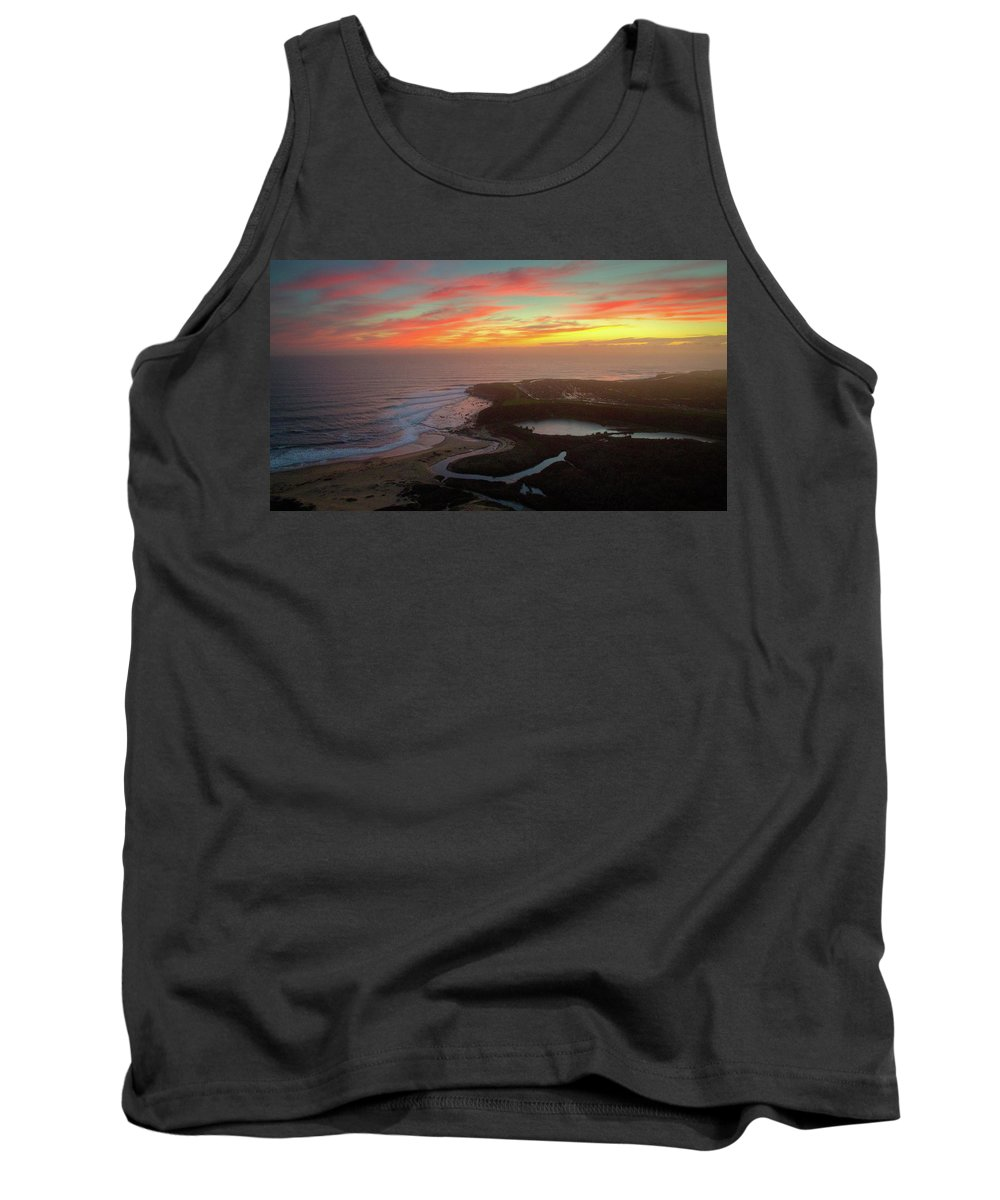 Above Tank Top featuring the photograph Go With The Flow by David Levy