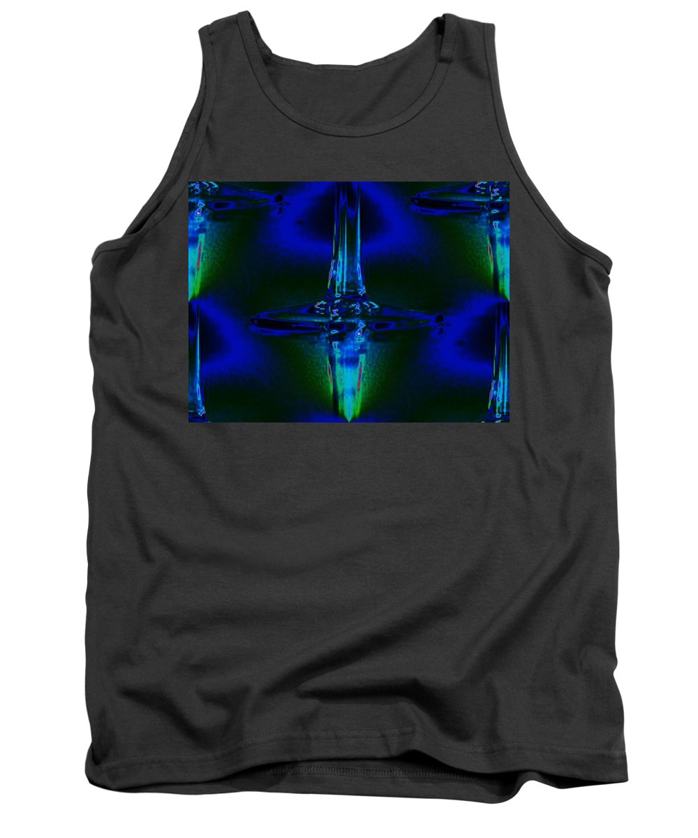 Wine Tank Top featuring the photograph Goblet by Tim Allen