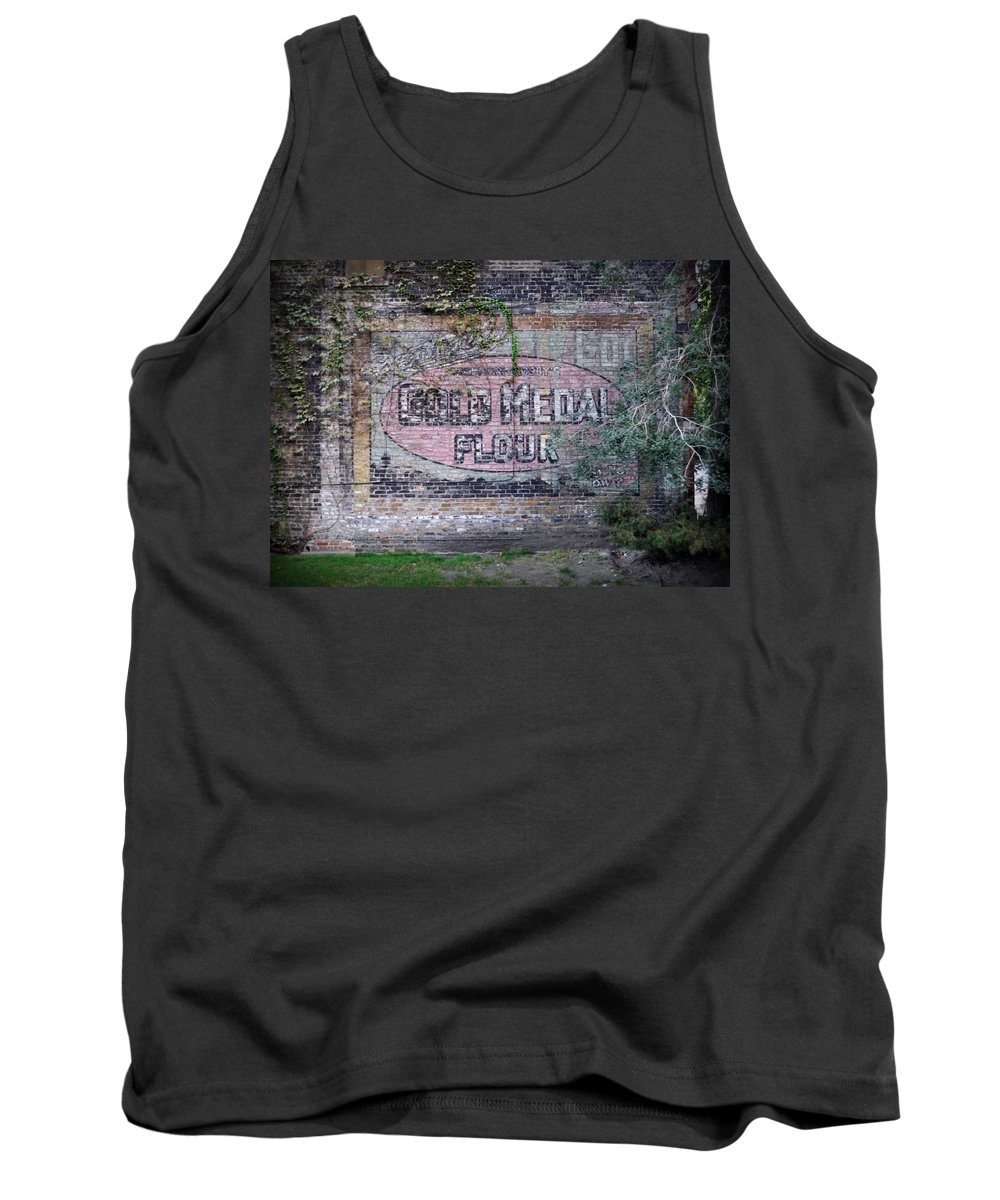 Gold Medal Flour Tank Top featuring the photograph Gold Medal Flour by Tim Nyberg