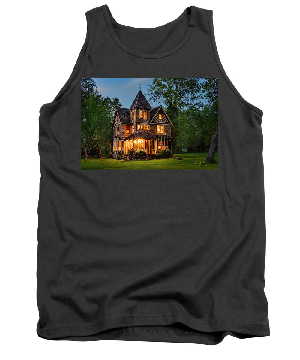Victorian Tank Top featuring the photograph Enchanting Dream by Dan McGeorge