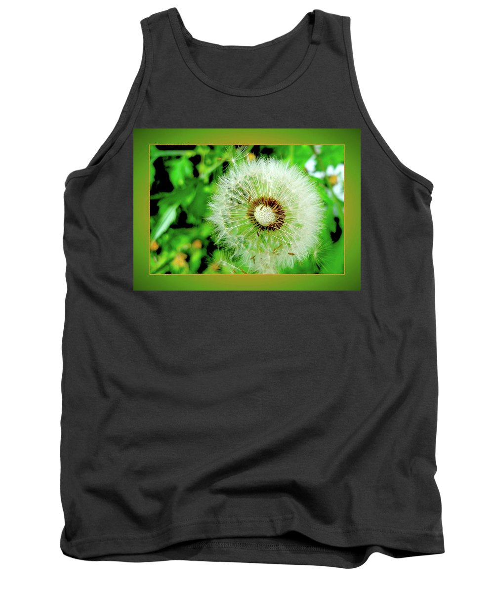Dandelion Tank Top featuring the photograph Good Wishes by Jane Alexander