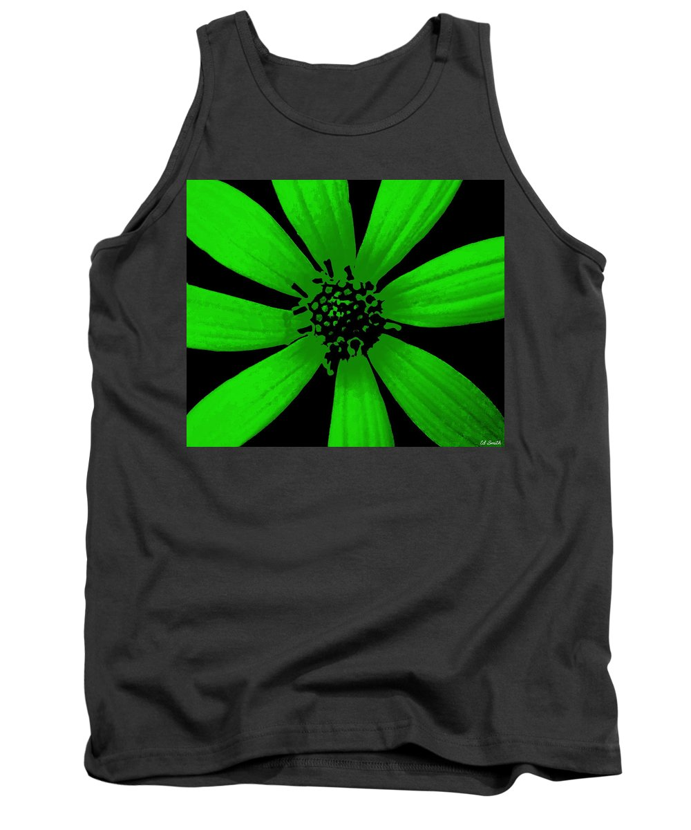 Still Life Tank Top featuring the photograph Gorgeous Green by Ed Smith