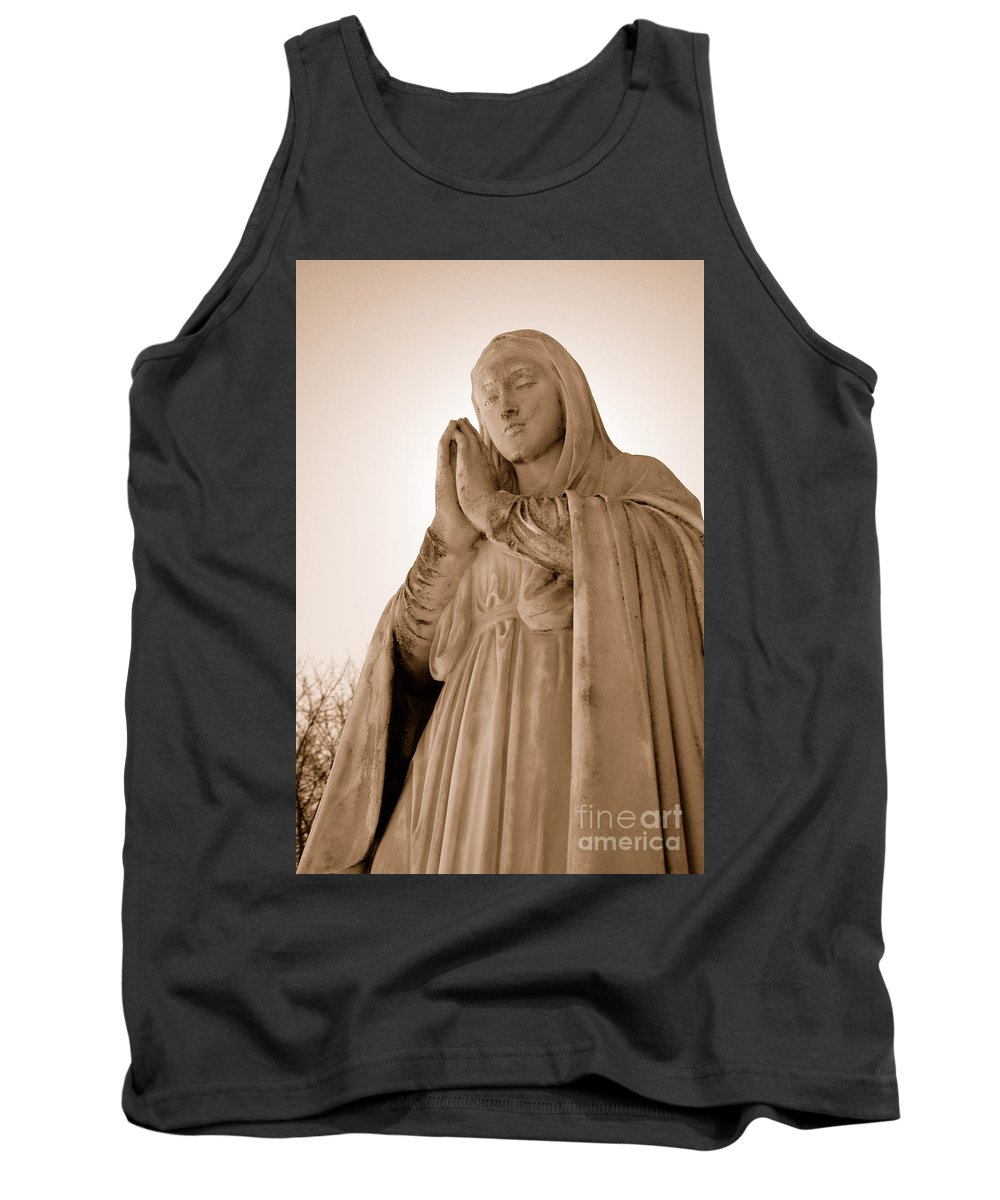 Mary Tank Top featuring the photograph Grace by Joe Ng