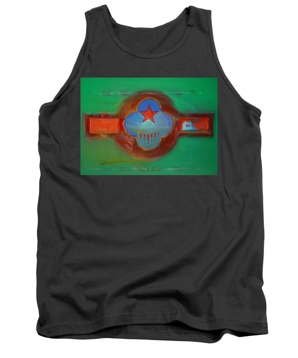 Star Tank Top featuring the painting Grand Canal by Charles Stuart