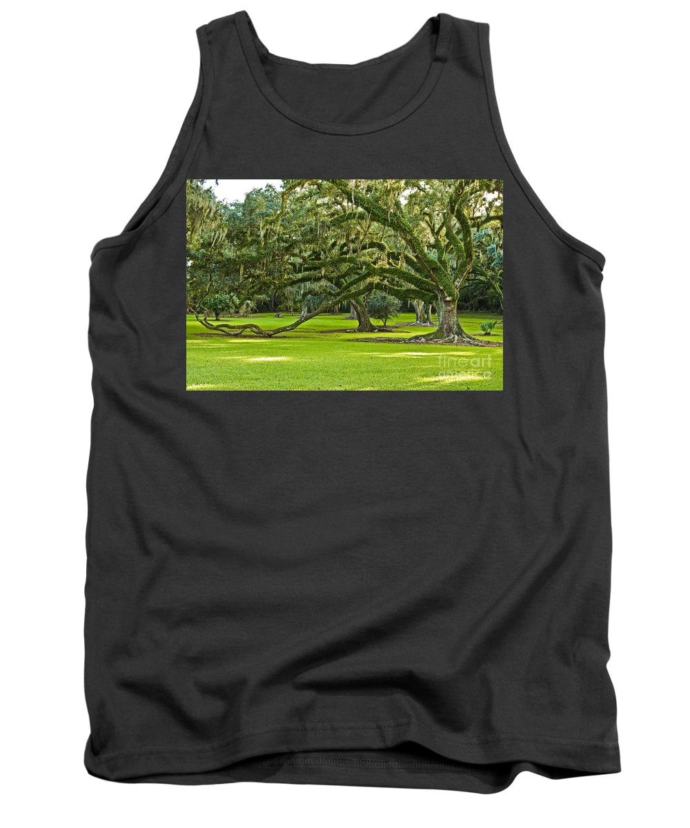 Avery Island Tank Top featuring the photograph Grand Lady by Scott Pellegrin