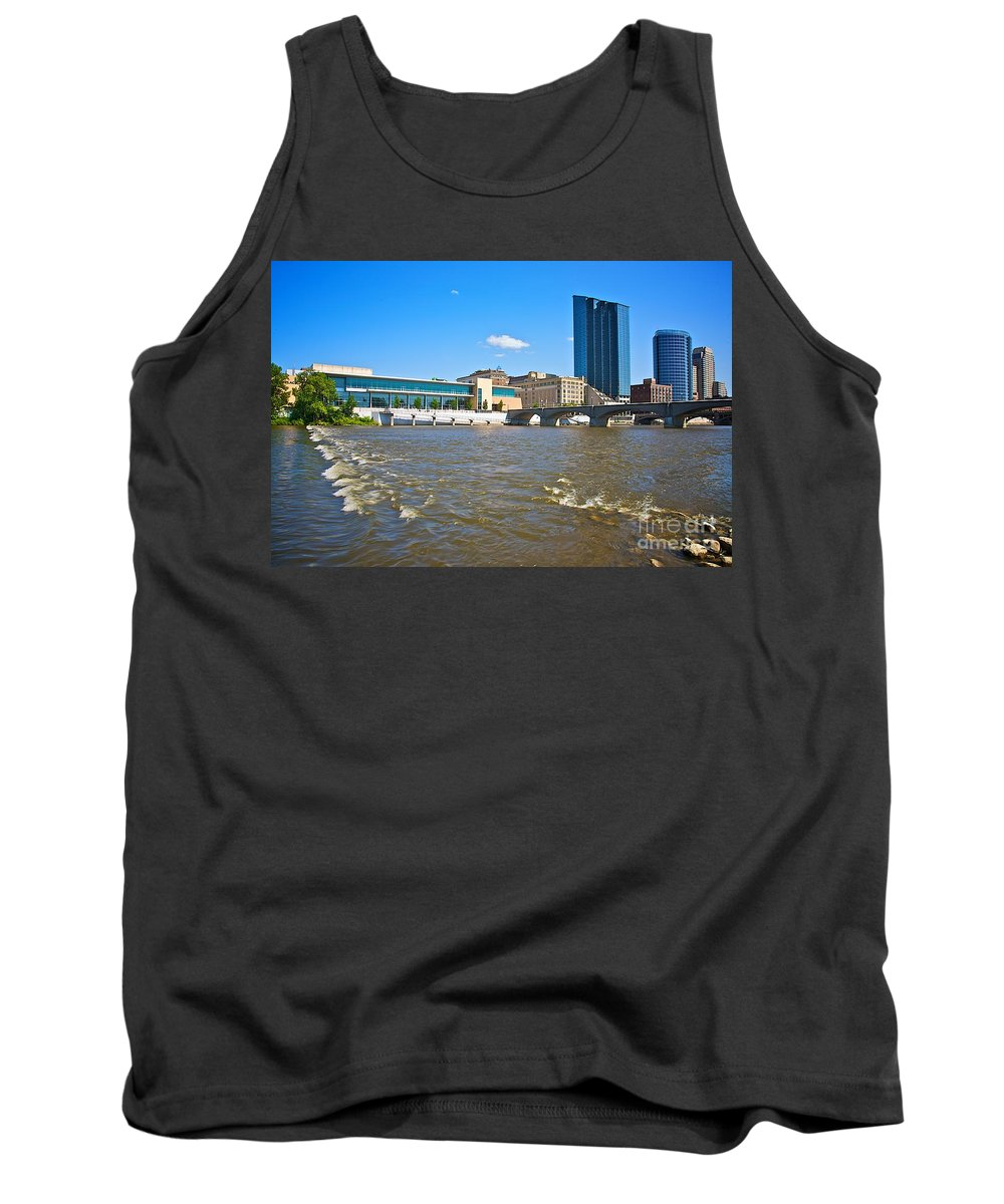 City Tank Top featuring the photograph Grand Rapids Mi-6 by Robert Pearson