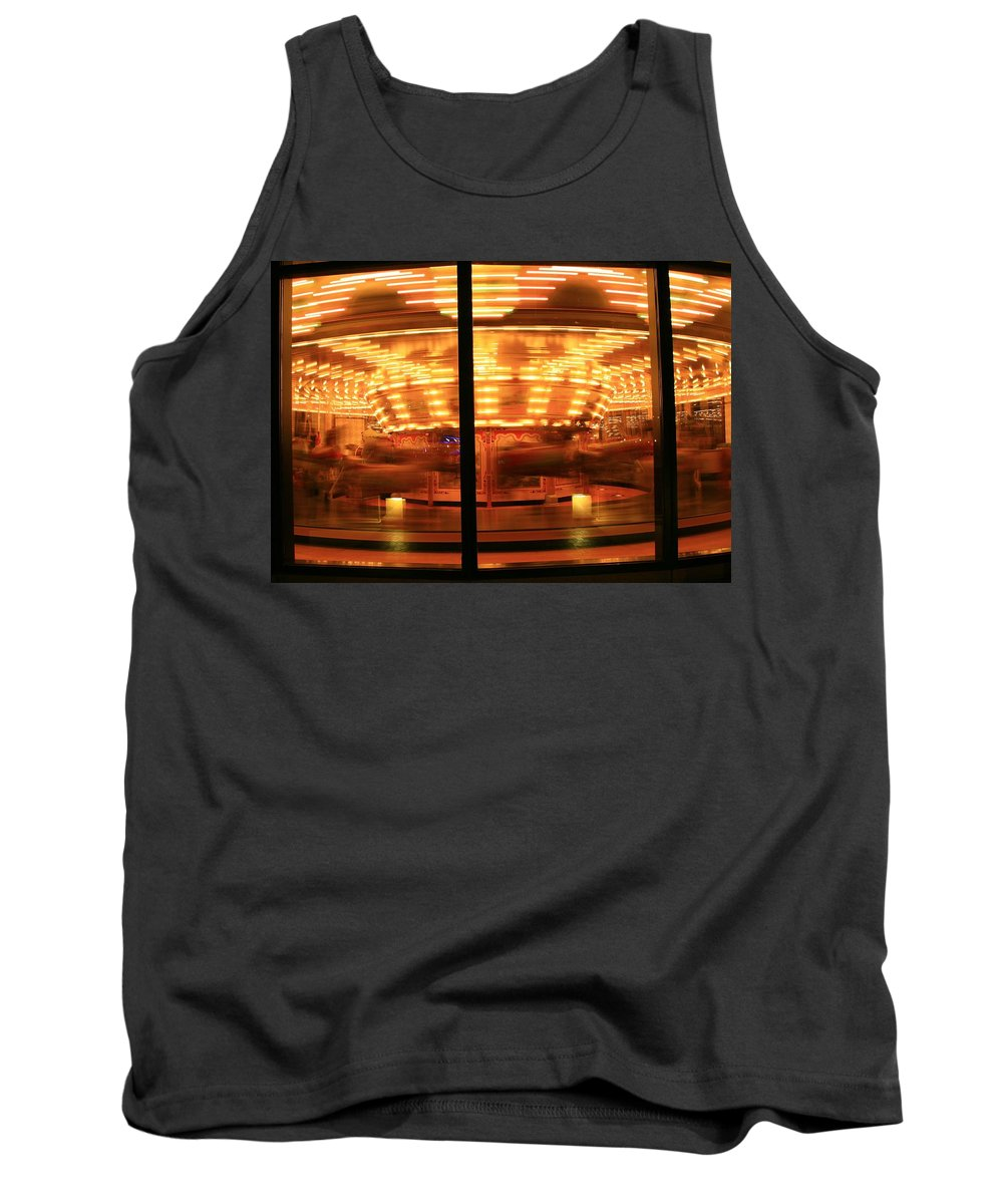 Grand Rapids Mi City Scapes Tank Top featuring the photograph Grand Rapids Mi Under The Lights-3 by Robert Pearson