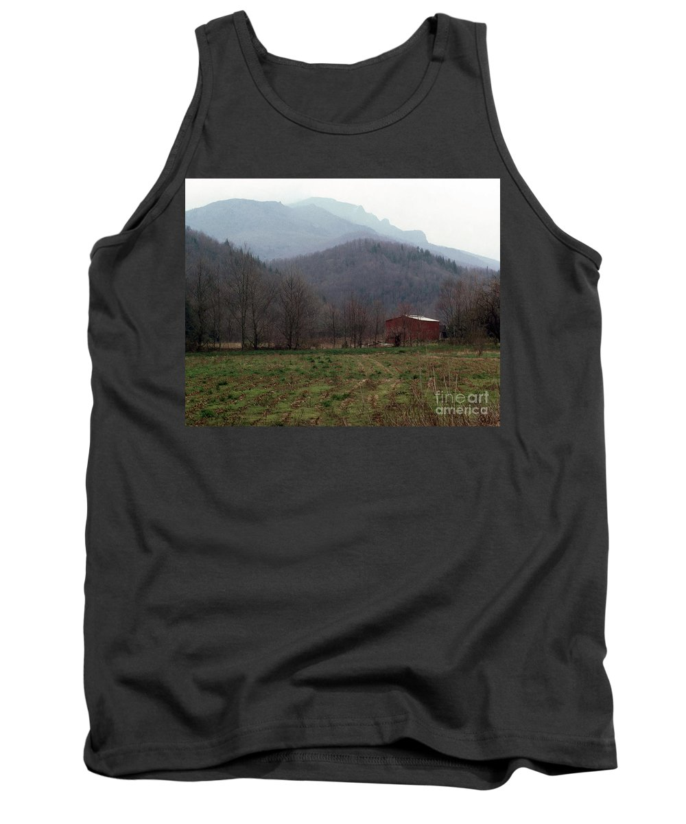 North Carolina Tank Top featuring the photograph Grandfather Mountain by Richard Rizzo