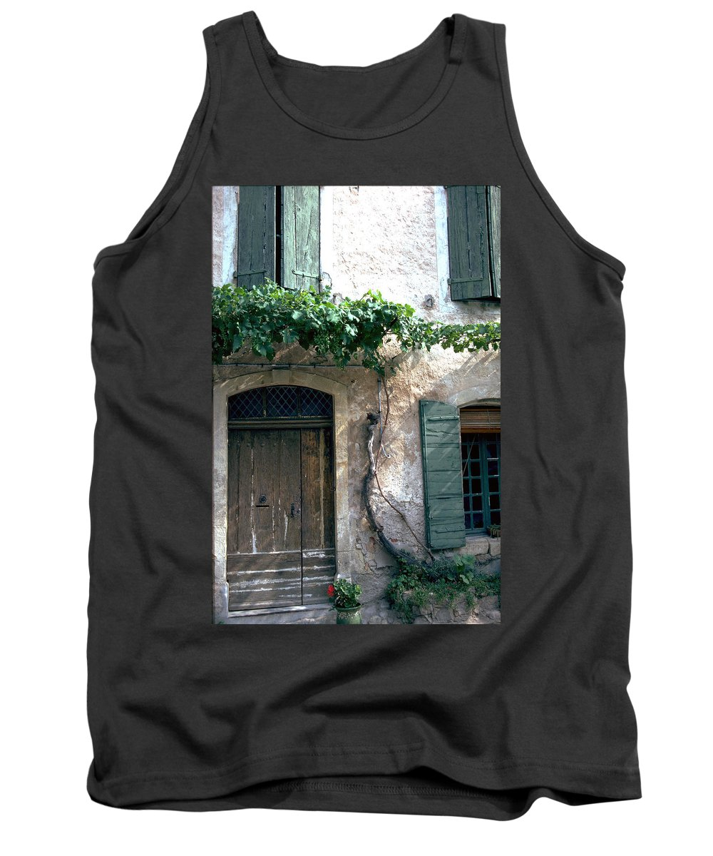 Grapevine Tank Top featuring the photograph Grapevine by Flavia Westerwelle