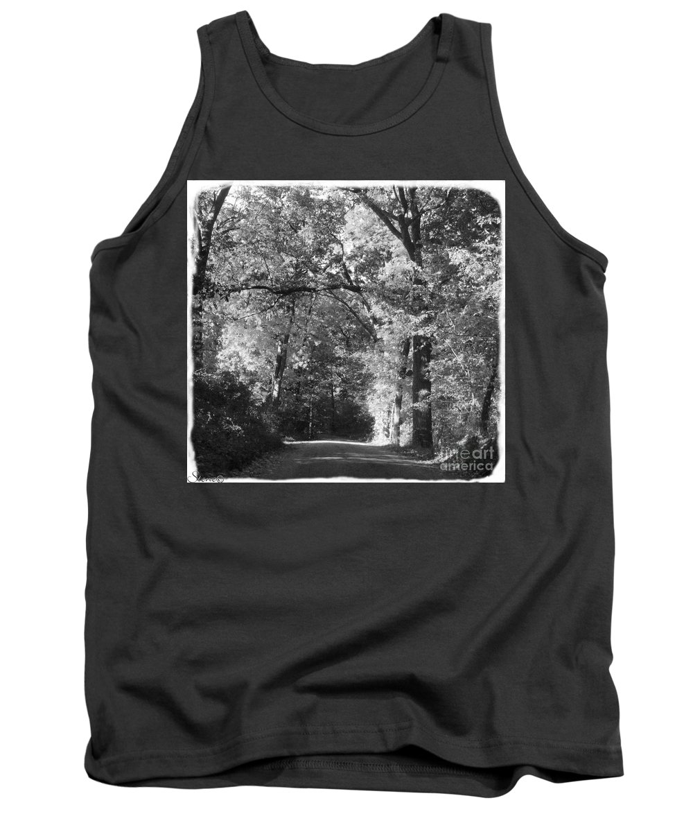 Back Tank Top featuring the photograph Graves Rd by September Stone