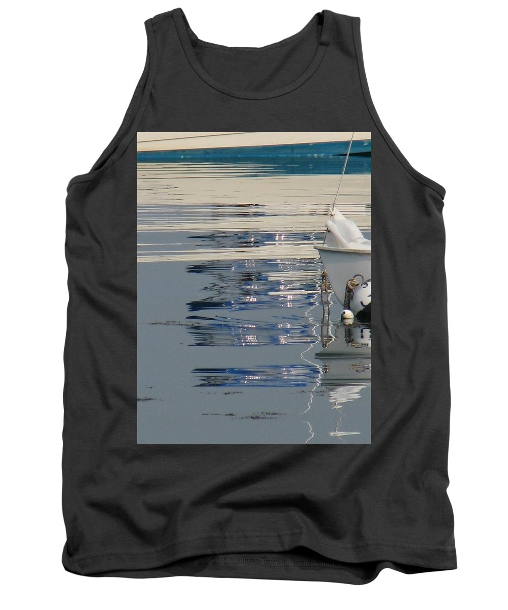 Ocean Tank Top featuring the photograph Great Day For Sailing by Kelly Mezzapelle
