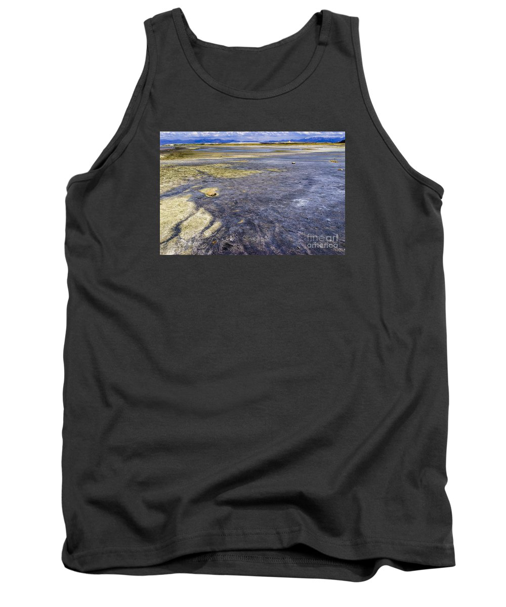 Utah Tank Top featuring the photograph Great Salt Lake Basin by Ben Graham