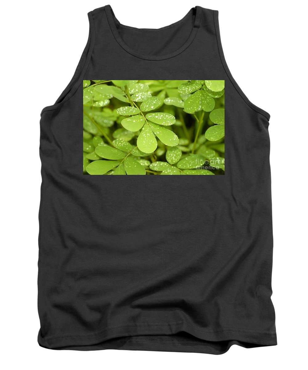 Green Tank Top featuring the photograph Green by David Lee Thompson