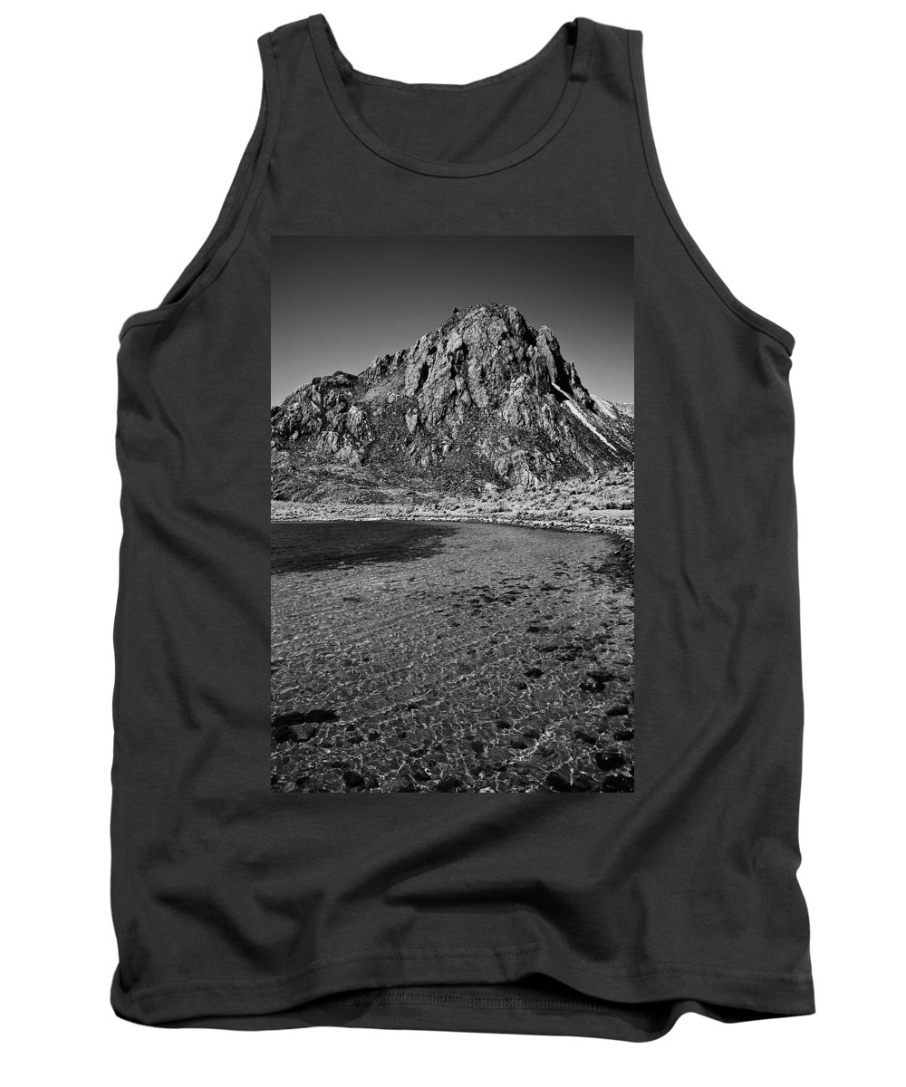 Mountain Tank Top featuring the photograph Green Lake by Galeria Trompiz