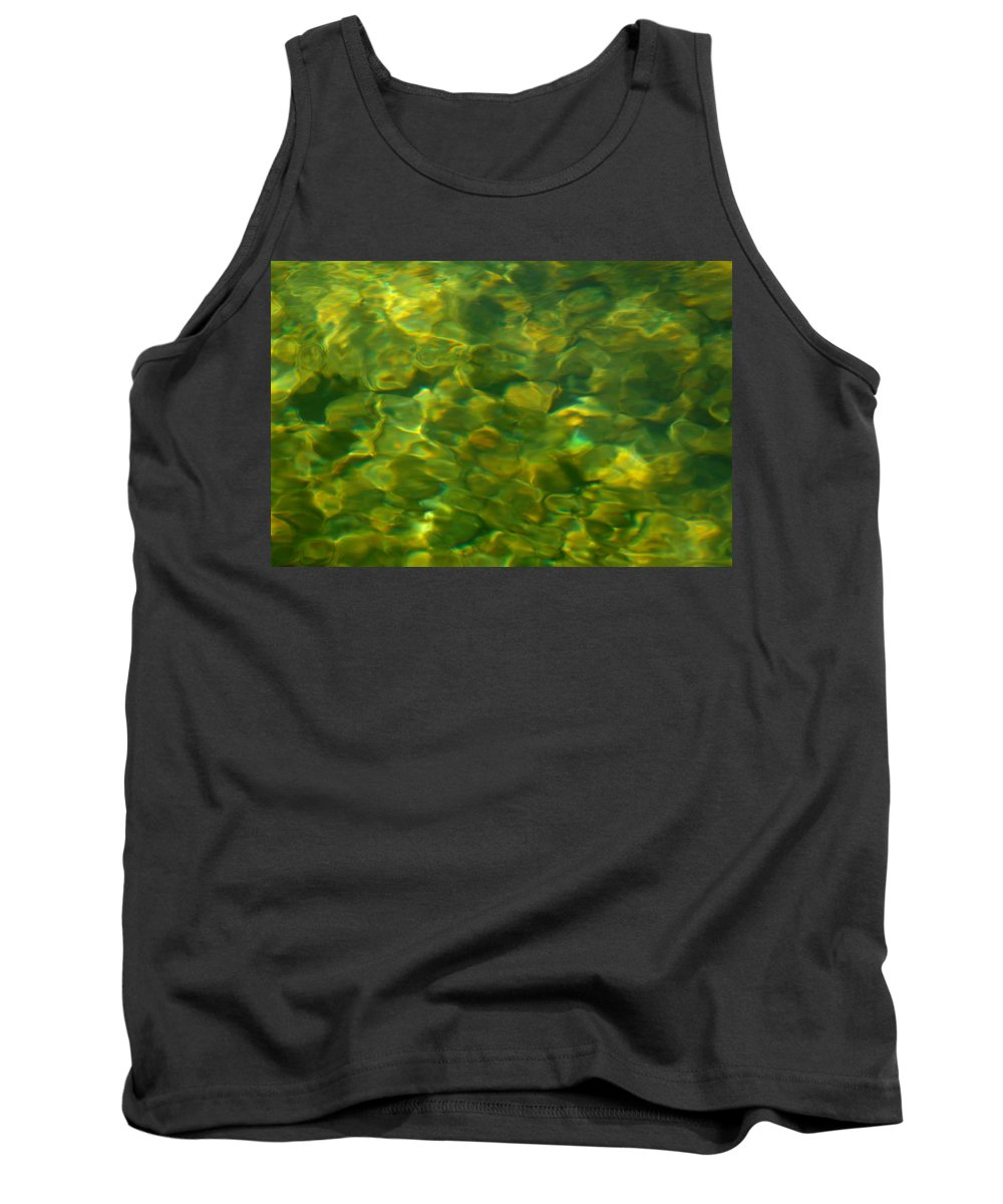 Water Tank Top featuring the photograph Green Mile by Donna Blackhall