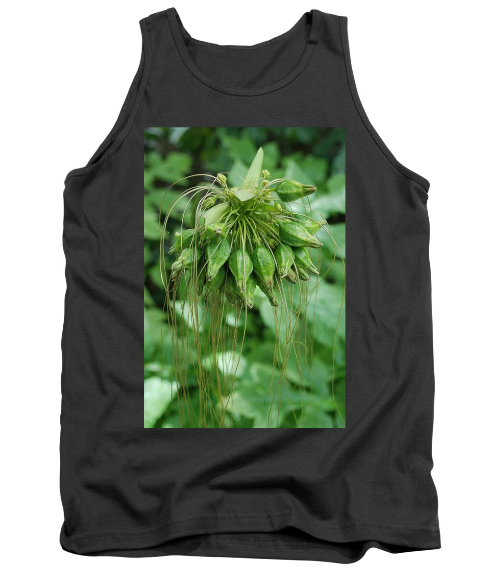 Macro Tank Top featuring the photograph Green Vines by Rob Hans
