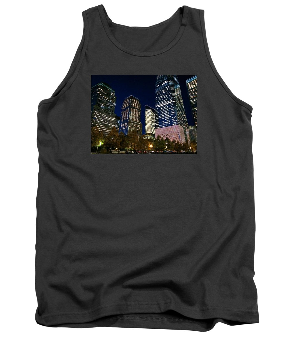 New York Tank Top featuring the photograph Ground Zero by Matt Matthews