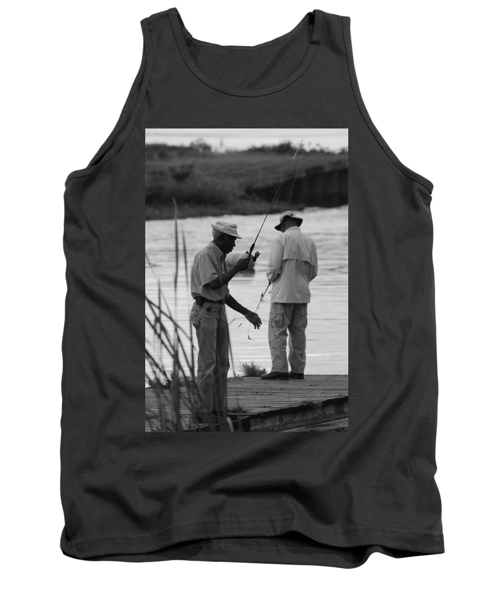 Men Tank Top featuring the photograph Grumpy Old Men by Rob Hans