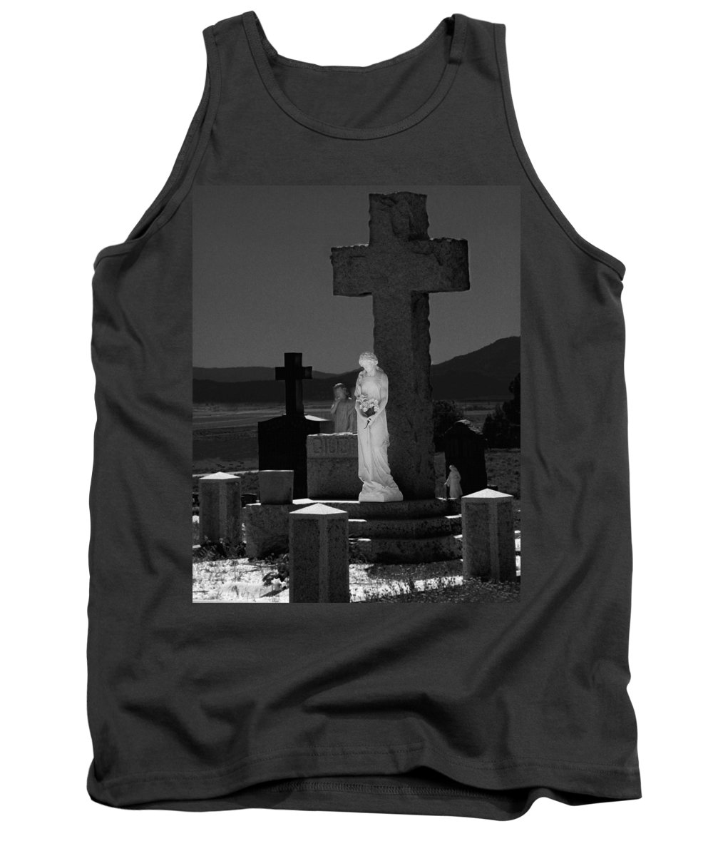 Guardians Of Souls Tank Top featuring the photograph Guardians Of Souls by Peter Piatt