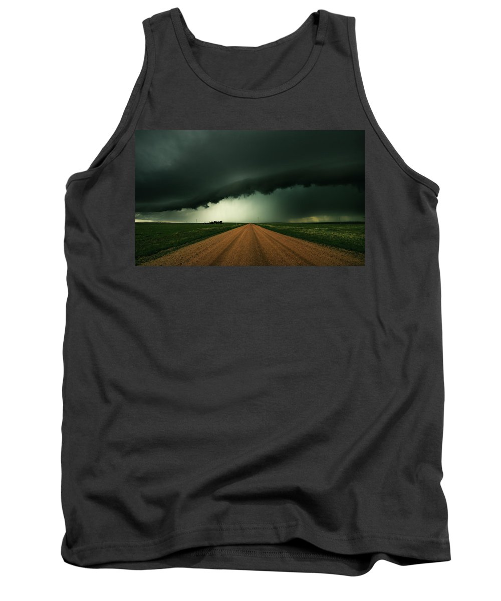 Hail Tank Top featuring the photograph Hail Shaft by Brian Gustafson