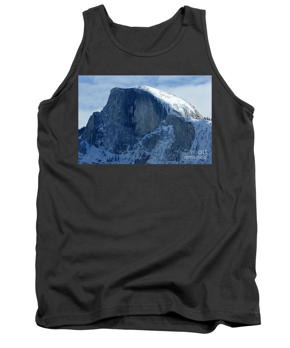 Half Dome Tank Top featuring the photograph Half Dome by Christine Jepsen