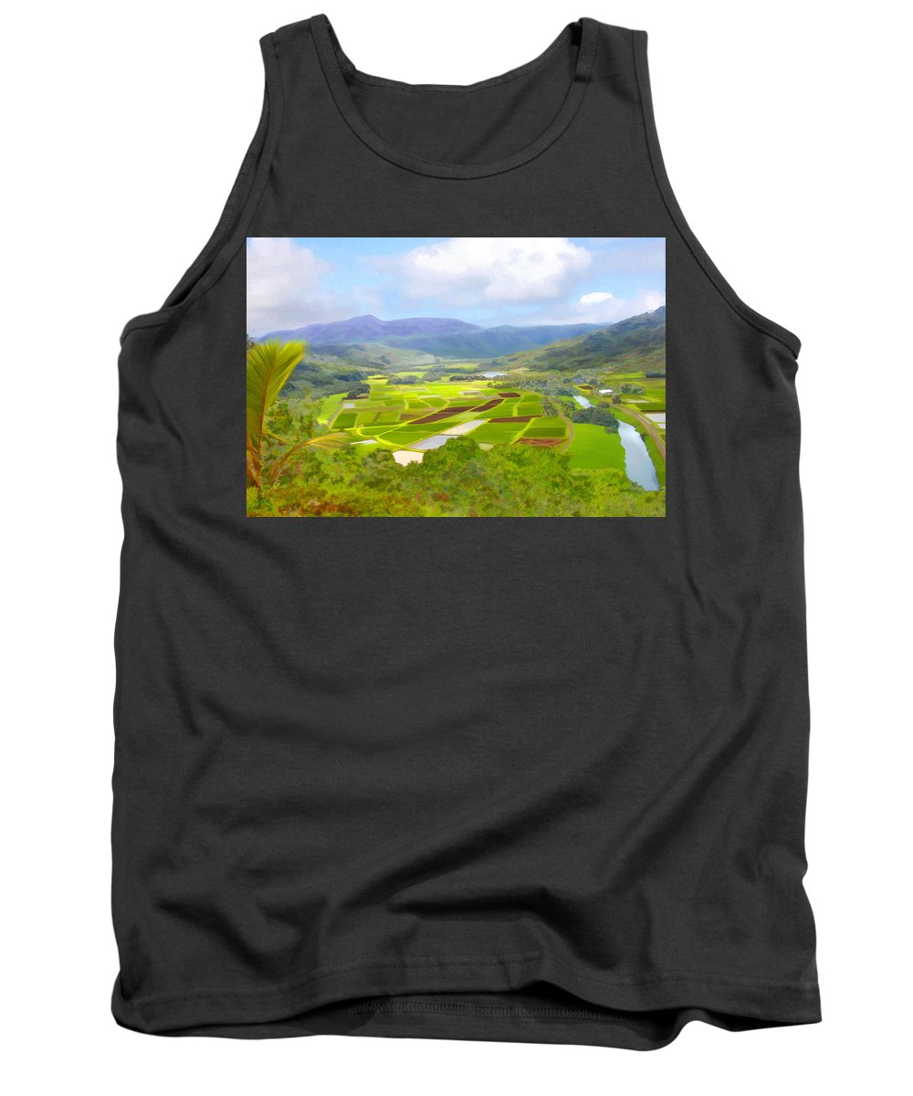 Hawaii Tank Top featuring the photograph Hanalai by Kurt Van Wagner