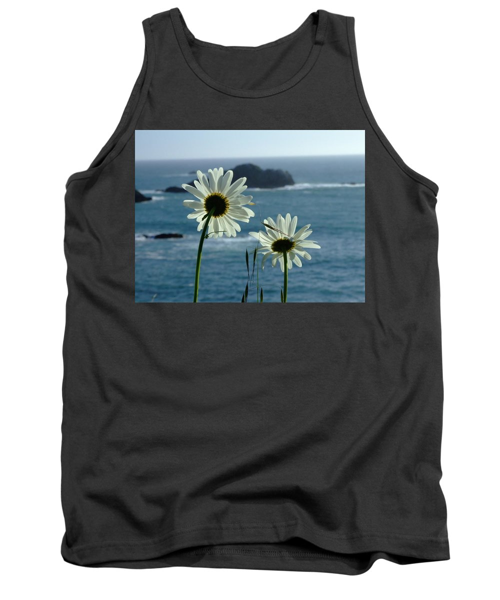 Daisy Tank Top featuring the photograph Happily Ever After by Donna Blackhall