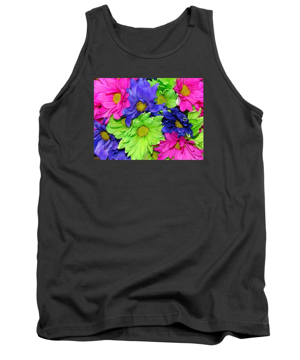 Flowers Tank Top featuring the photograph Happiness by J R  Seymour