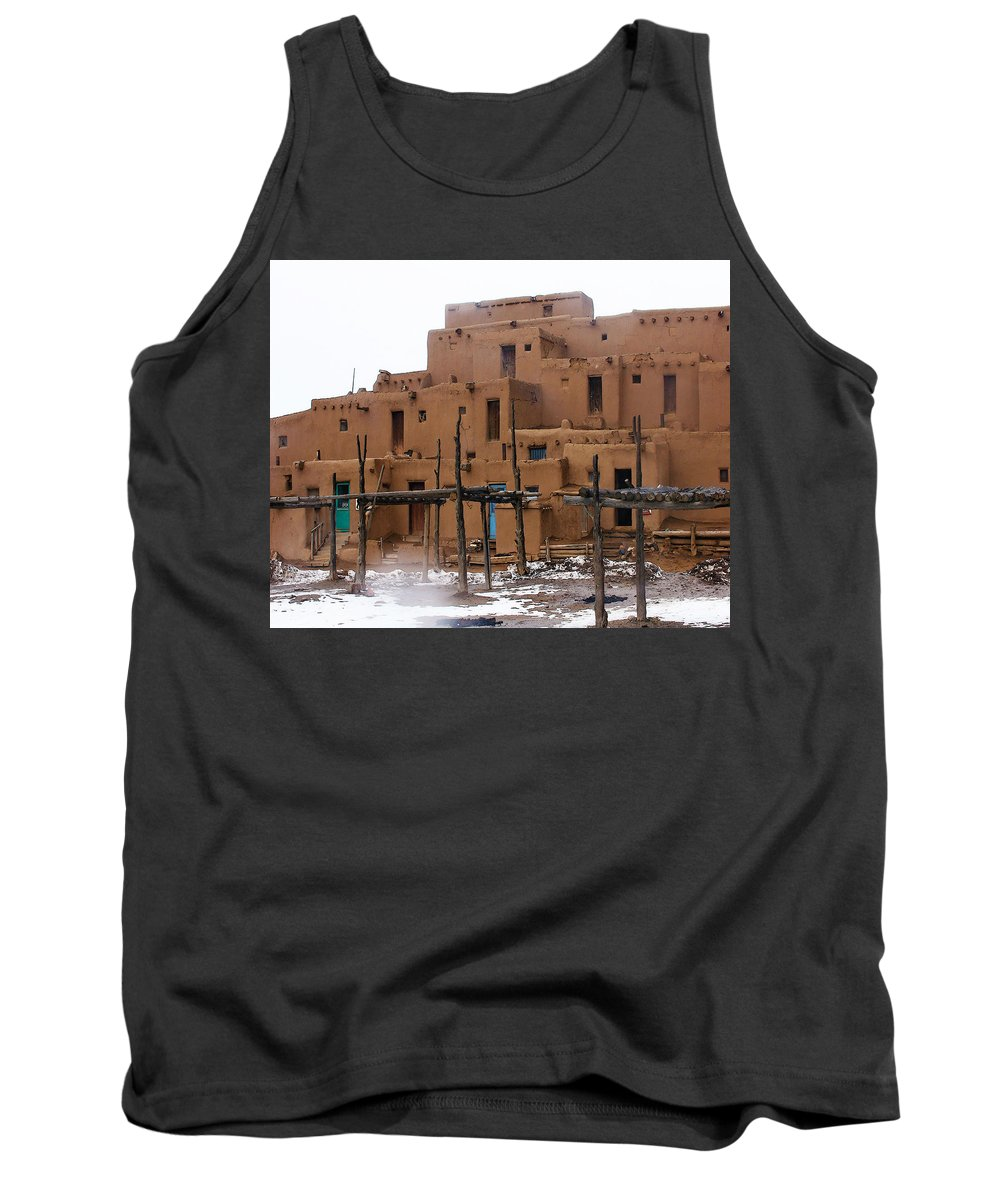 Tank Top featuring the photograph Hard Winter by Terry Fiala