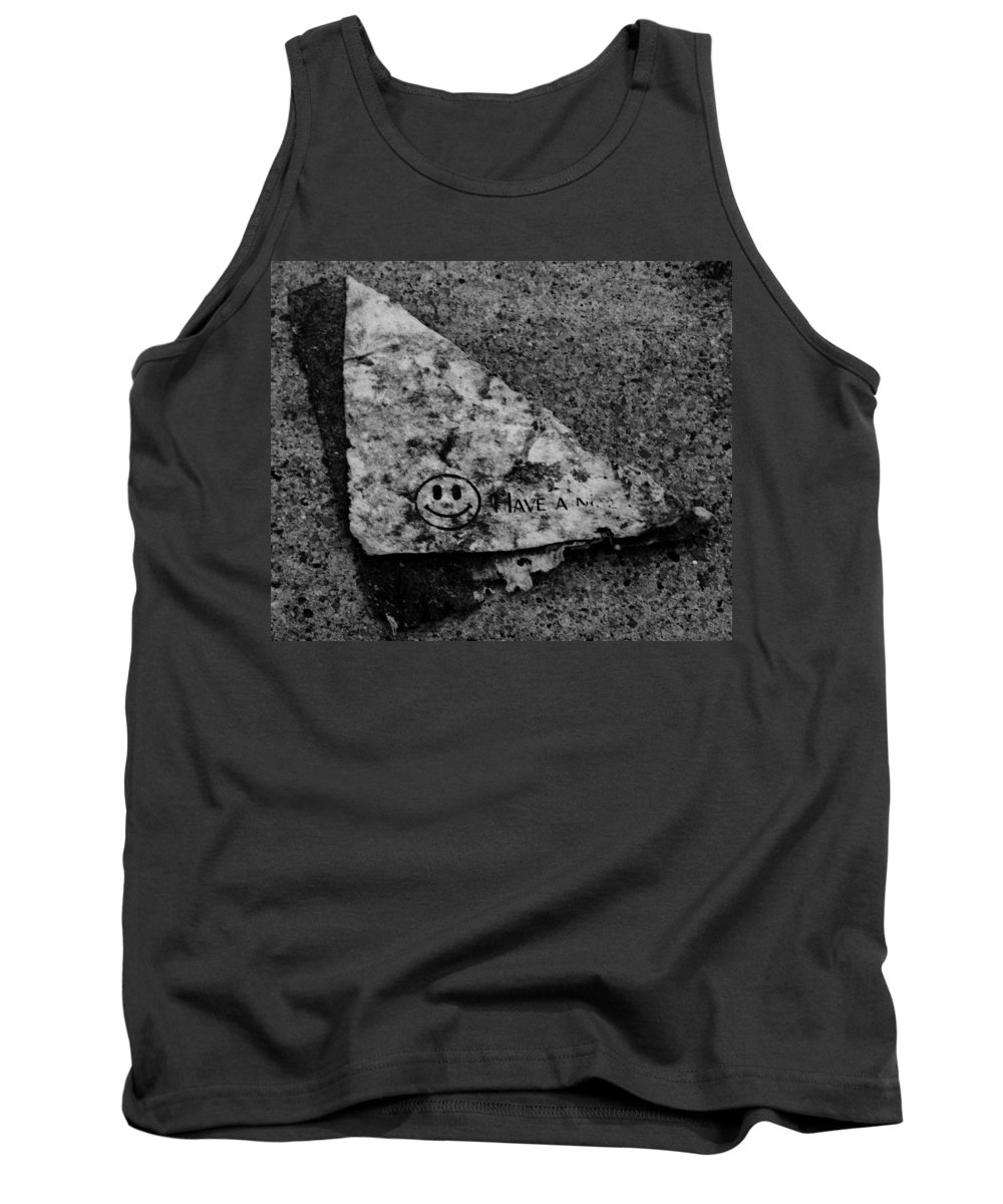 Debris Tank Top featuring the photograph Have A Nice Day by Angus Hooper Iii