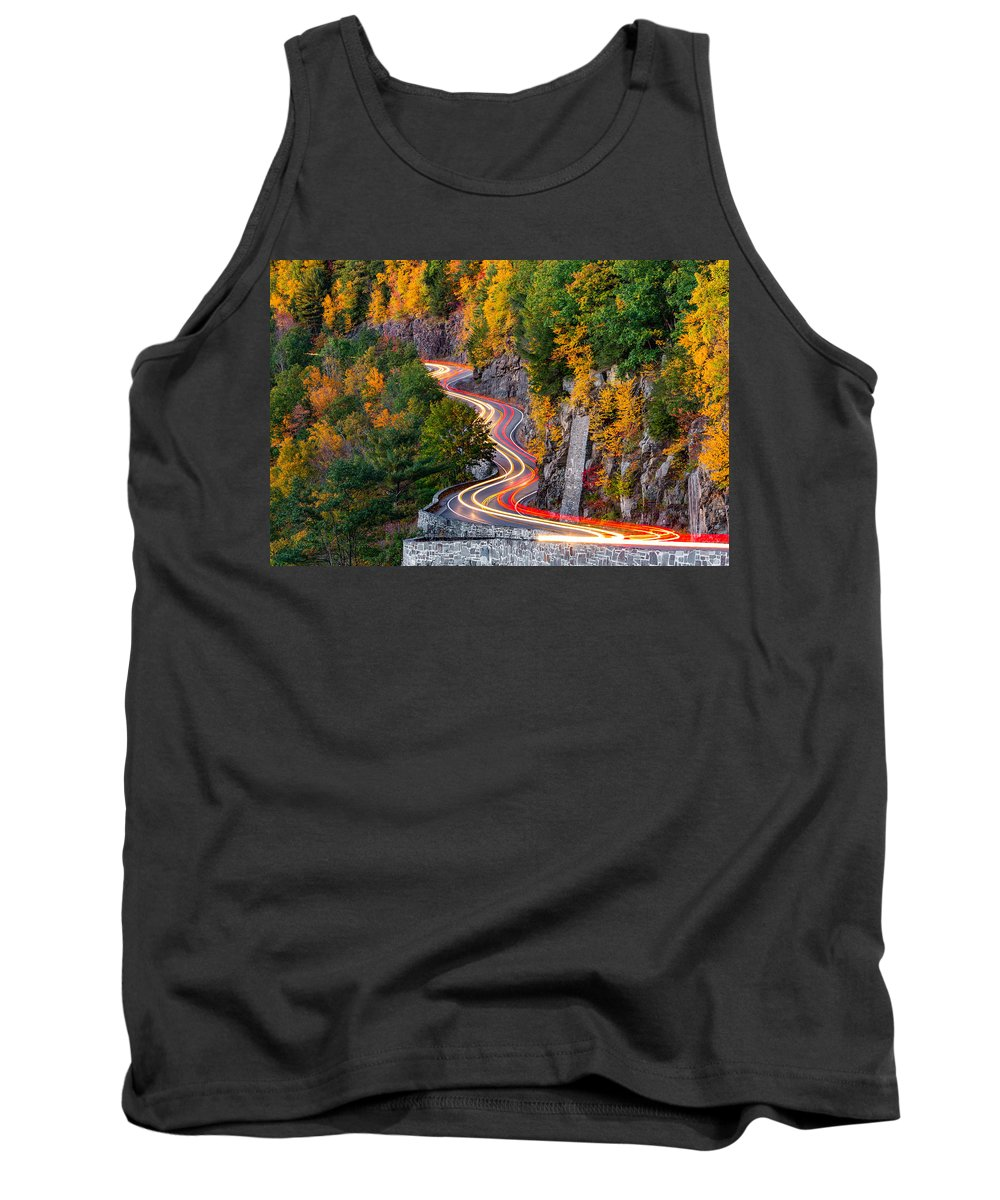 Hawks Nest Tank Top featuring the photograph Hawk's Nest by Mihai Andritoiu