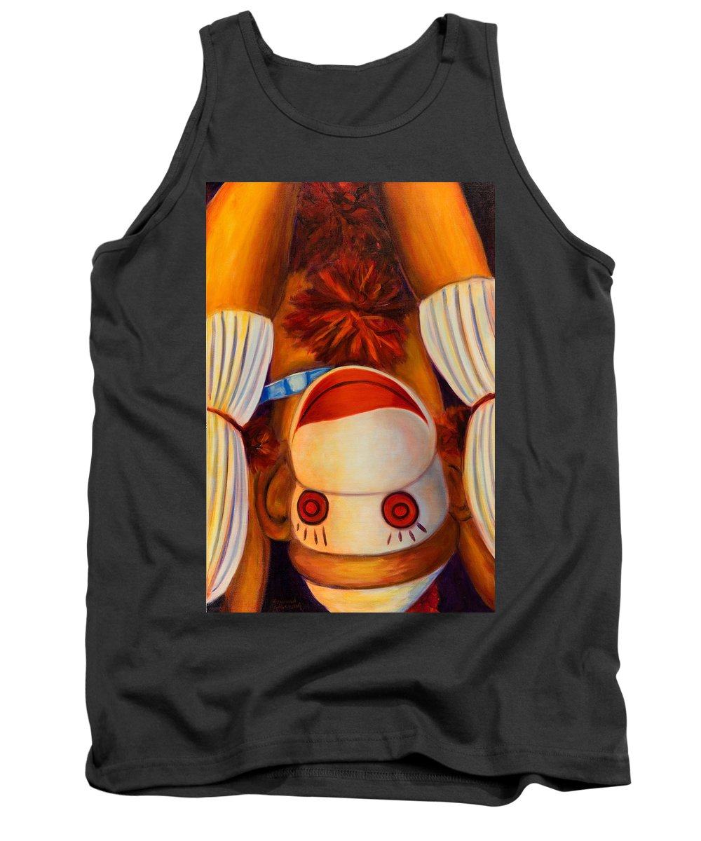 Children Tank Top featuring the painting Head-over-heels by Shannon Grissom