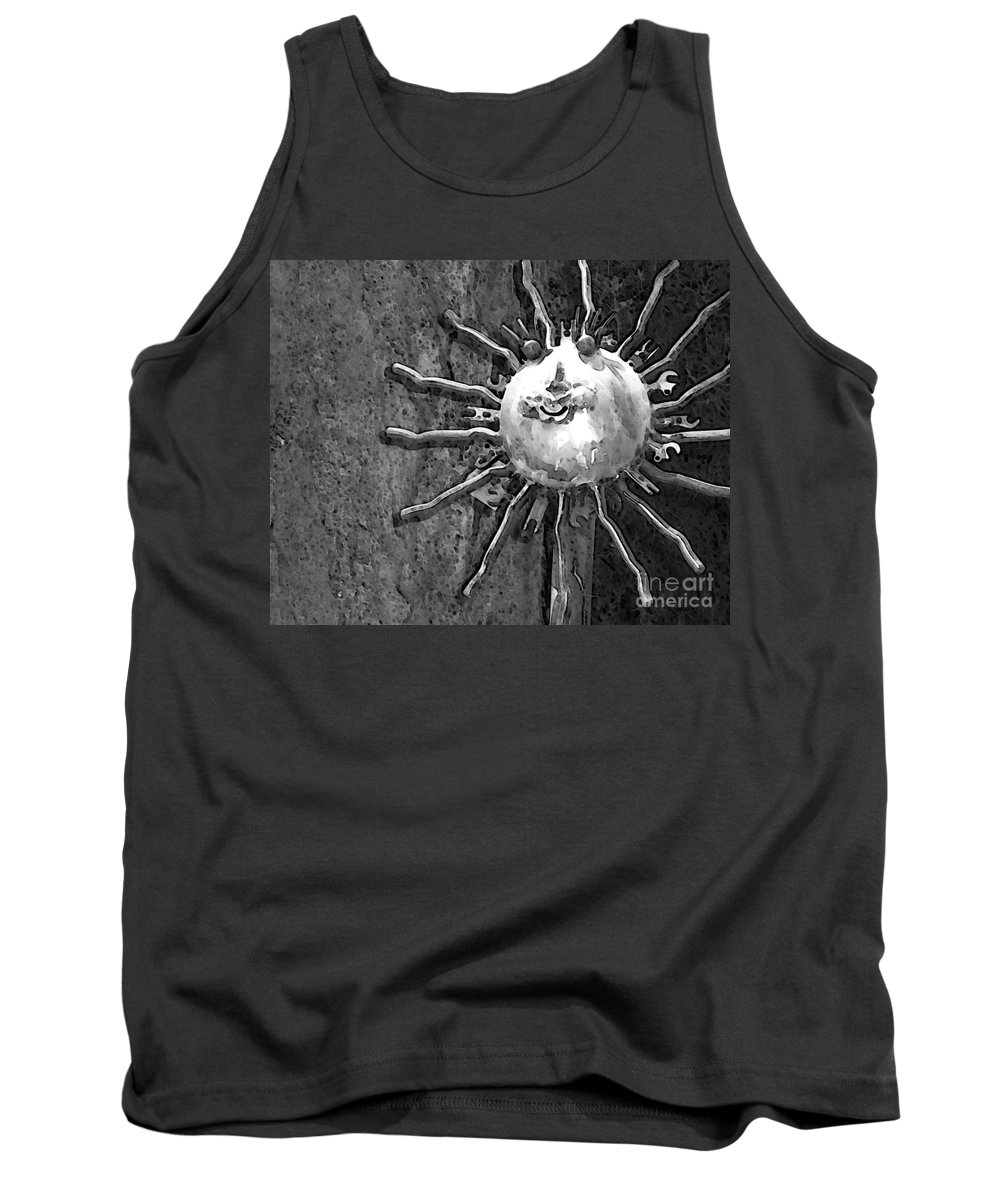 Sun Tank Top featuring the photograph Here Comes The Sun by Debbi Granruth