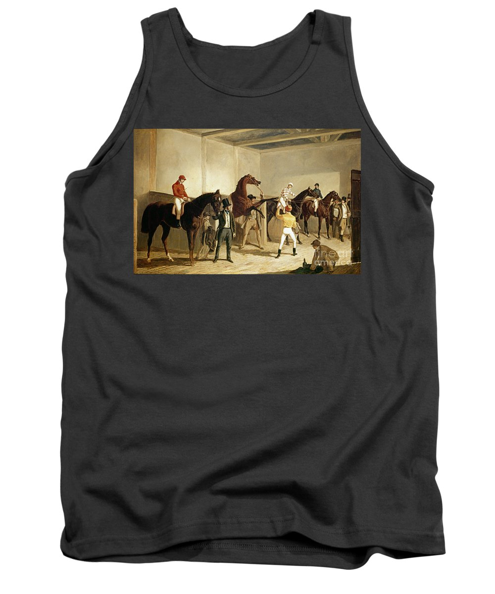 19th Century Tank Top featuring the painting Herring, Racing, 1845 by Granger