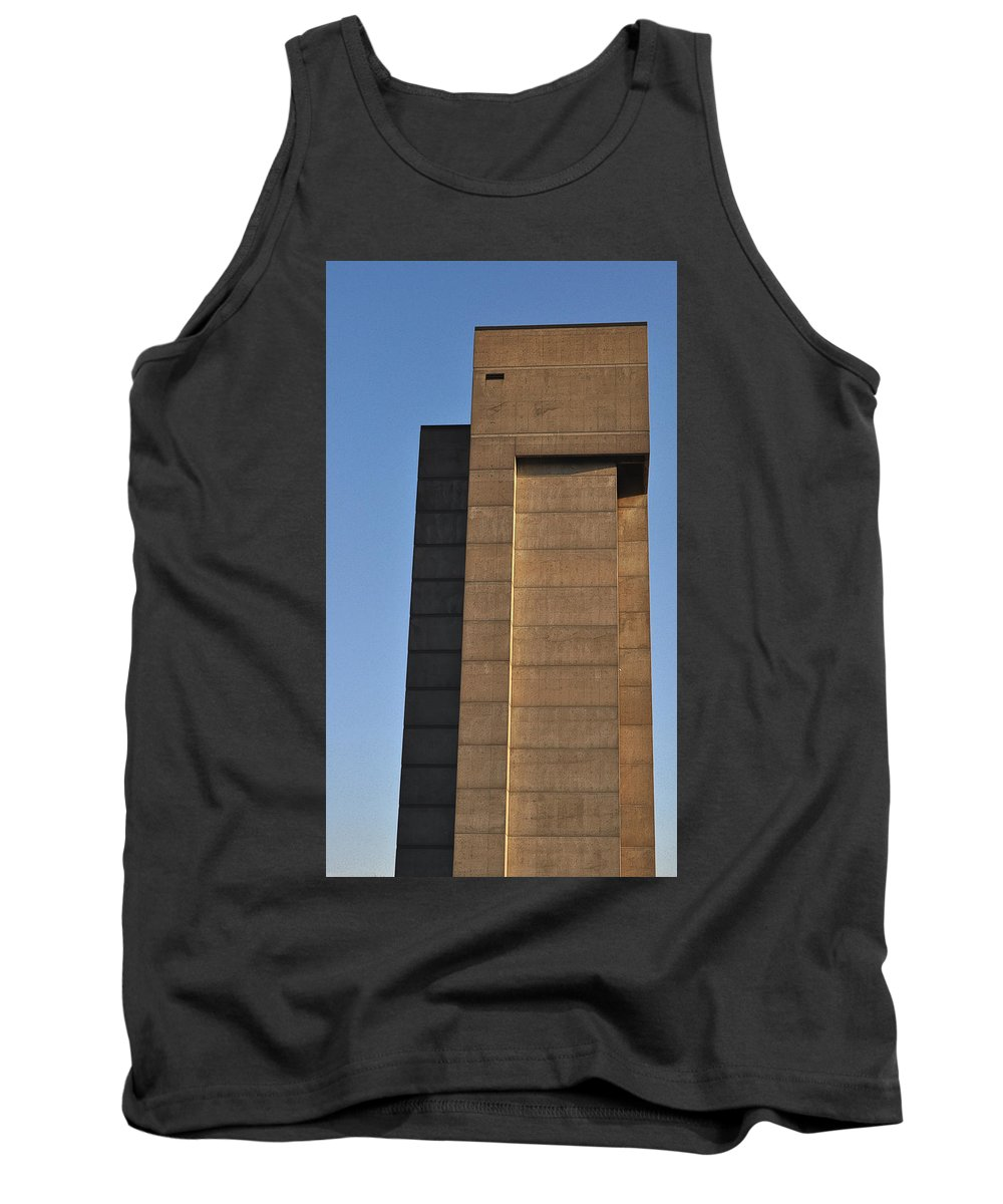 Building Tank Top featuring the photograph High Rise by Tim Nyberg