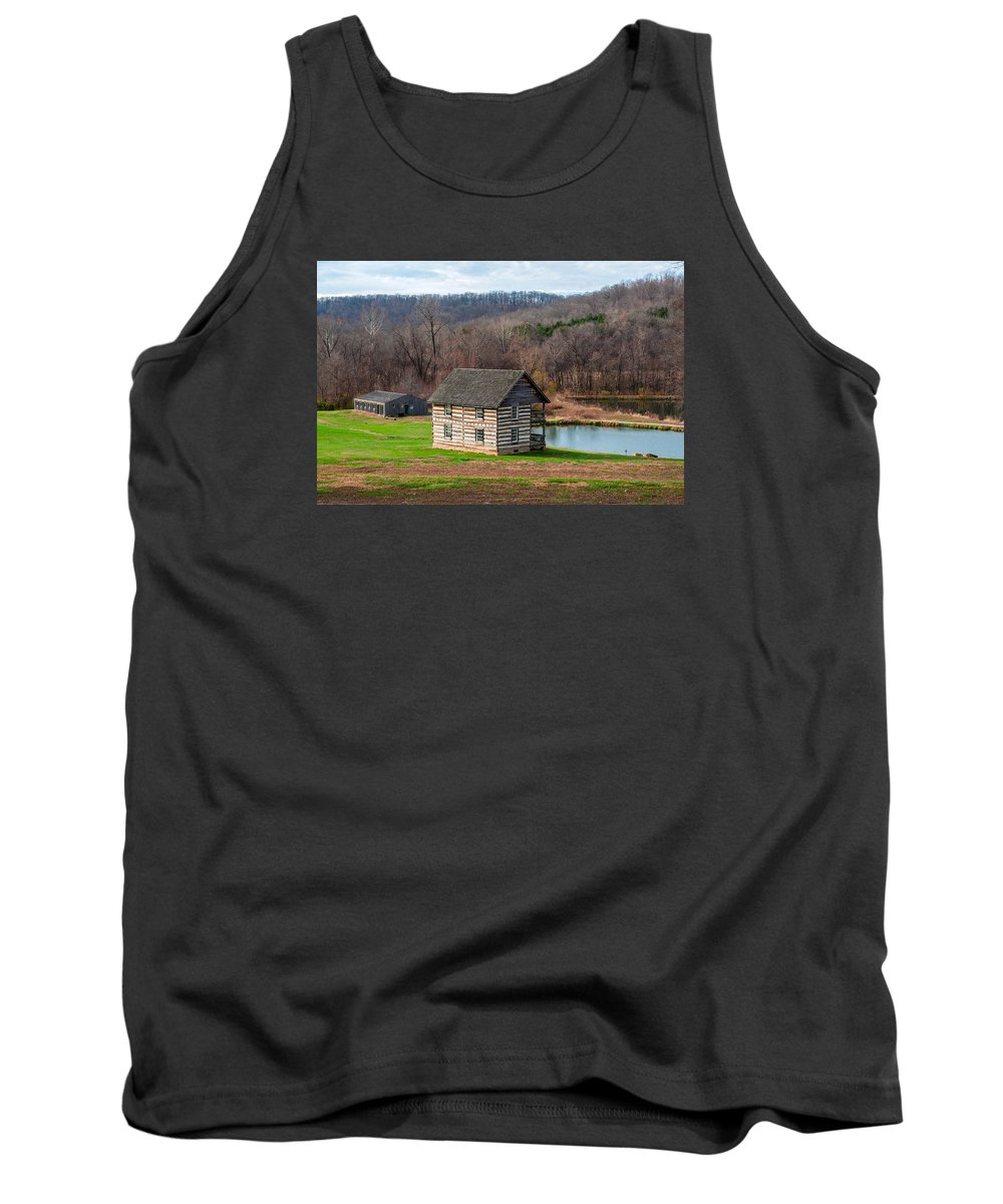 Historical Tank Top featuring the photograph Historical House by Carlton Cates