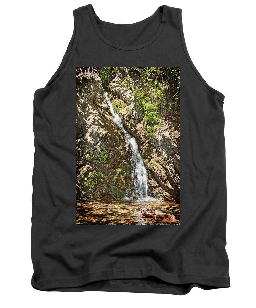 Holy Jim Falls Tank Top featuring the photograph Holy Jim Falls by Kelley King