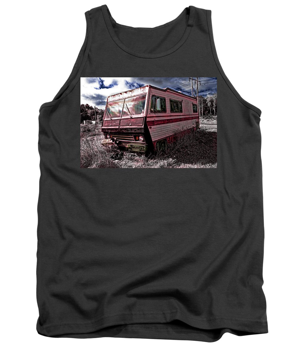 Auto Tank Top featuring the photograph Home Away From Home by Gary Shepard