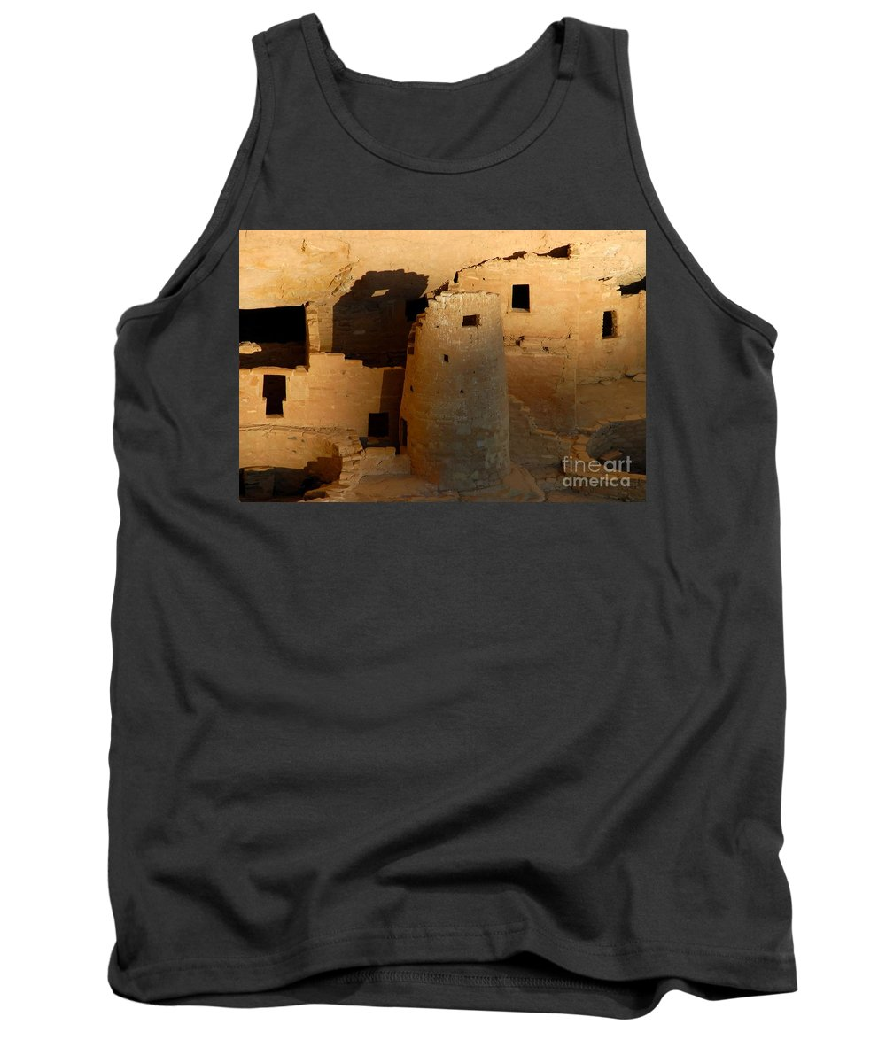 Anasazi Tank Top featuring the photograph Home Of The Anasazi by David Lee Thompson