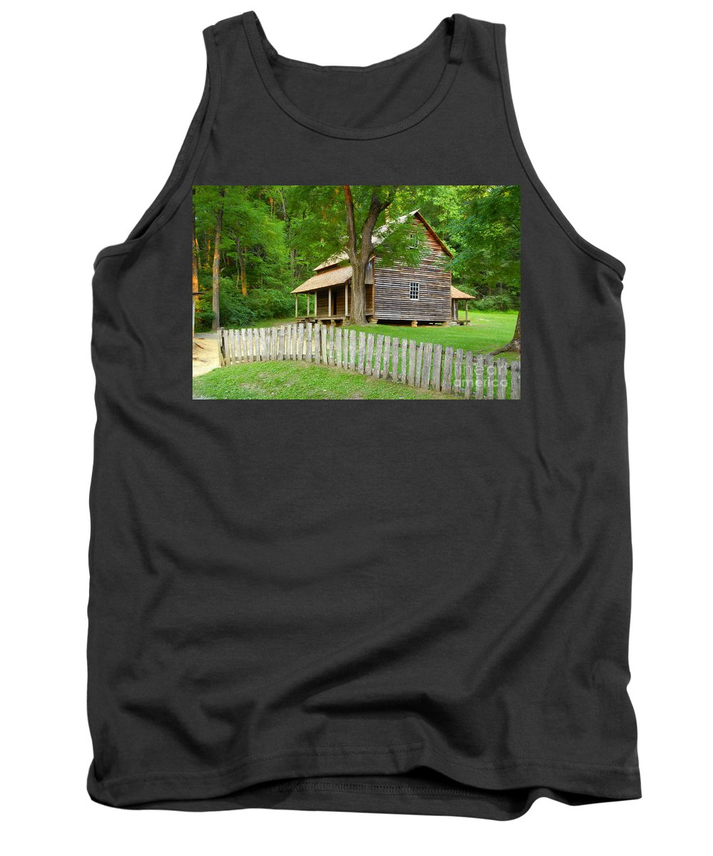 Home Tank Top featuring the photograph Homestead by David Lee Thompson