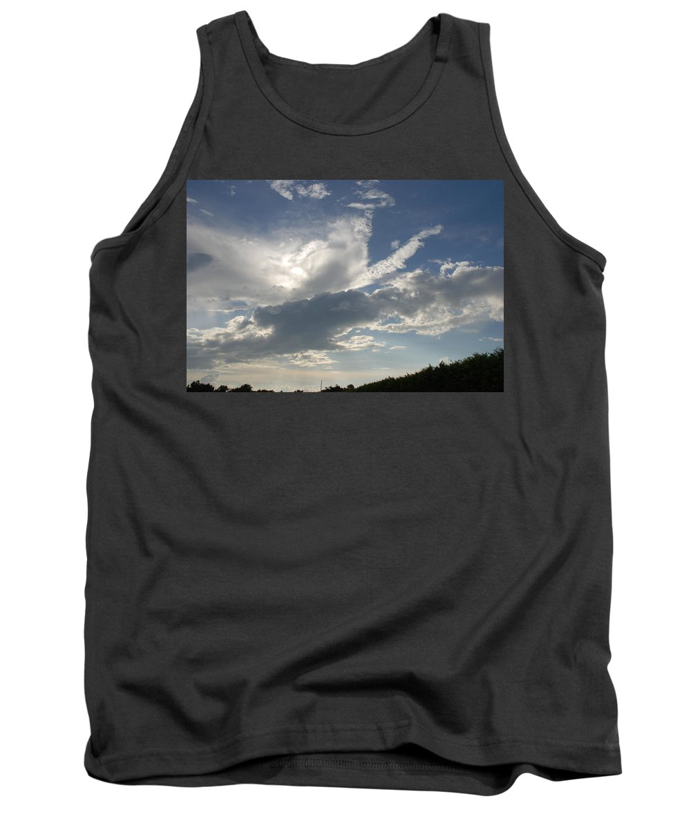 Sky Tank Top featuring the photograph Homestead Sky by Rob Hans