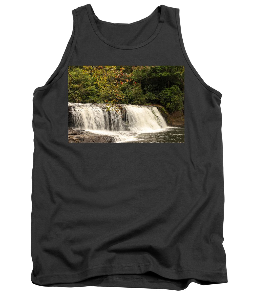 Autumn Tank Top featuring the photograph Hooker Falls by Travis Rogers