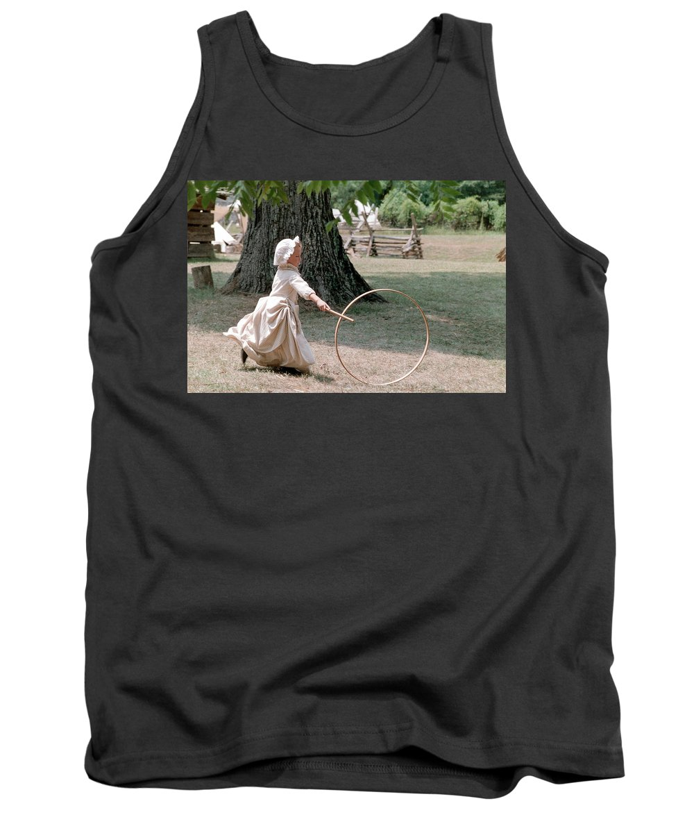 Hoop Tank Top featuring the photograph Hoop by Flavia Westerwelle
