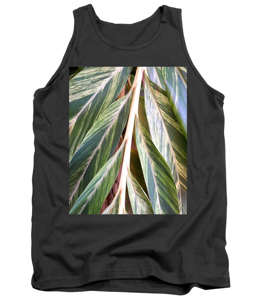 Florida Tank Top featuring the photograph Horizon Of Palm by Chris Andruskiewicz